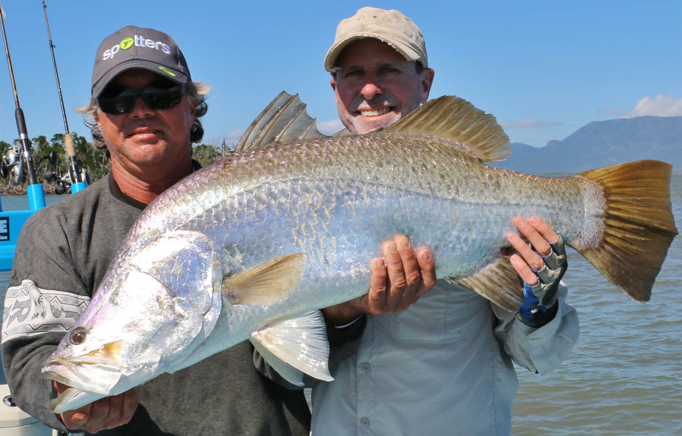 another metre barra with Ryan Moody and client