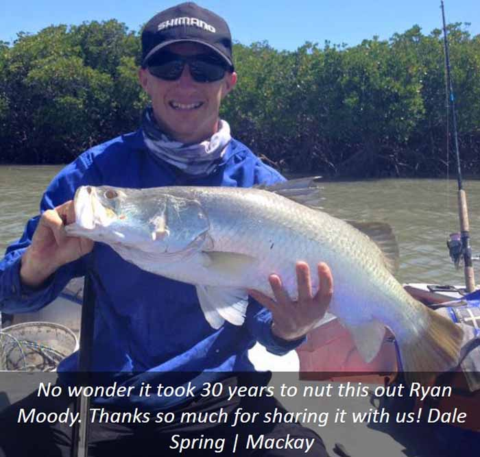 Catching barramundi in Mackay with barra basics online course
