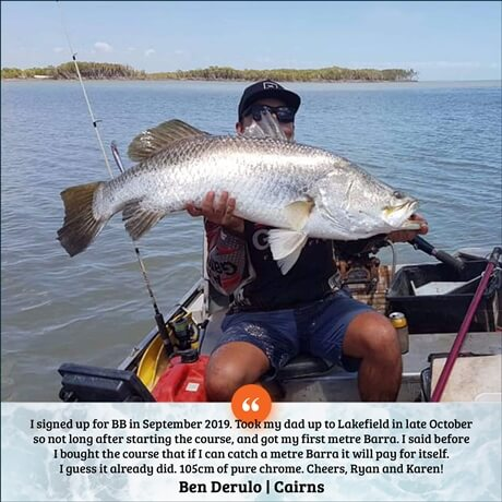 Barra Basics online fishing course to catch barramundi